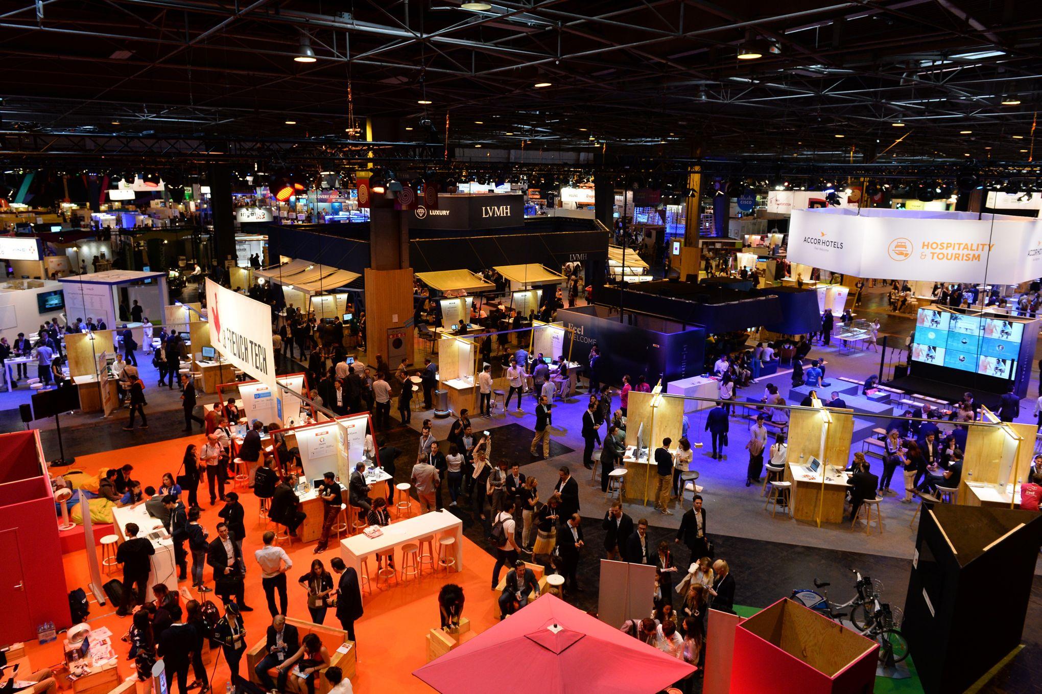L'événement autour des start-up aura lieu à Paris du 15 au 17 juin.