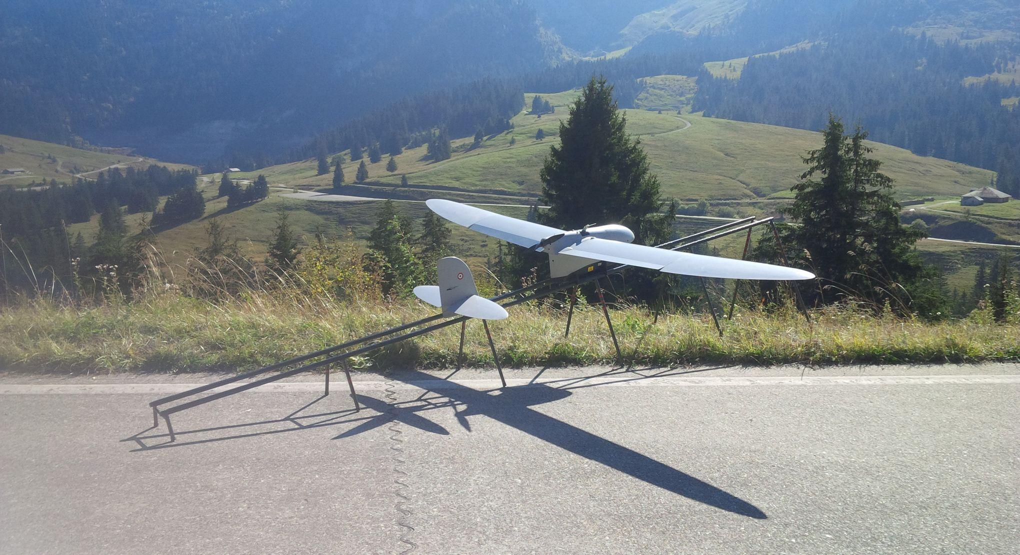 Démonstrations de drones en série au Salon du Bourget