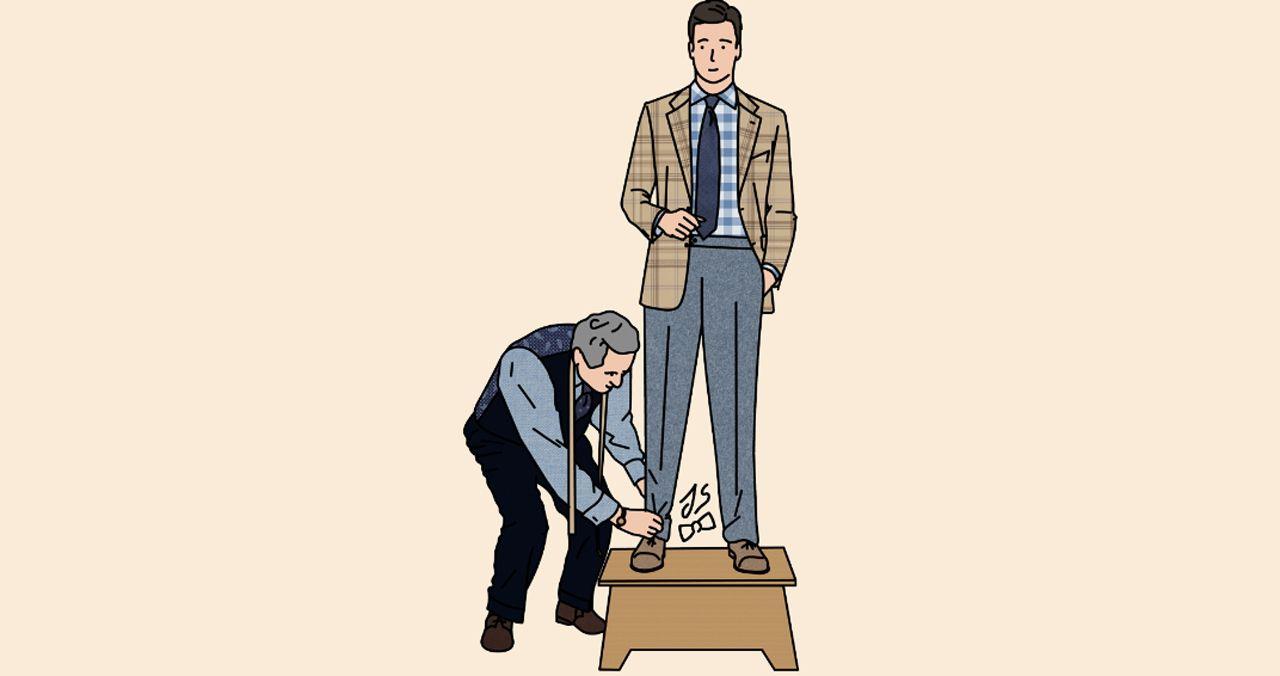 Mode homme: la relation tailleur et client