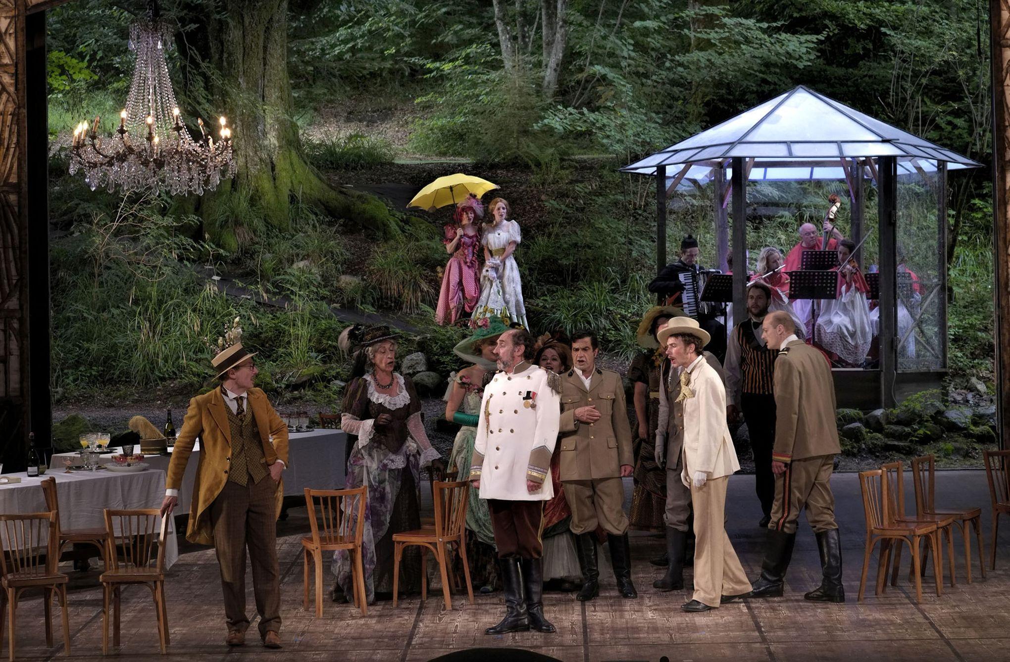 Feydeau et Offenbach festoient à Bussang