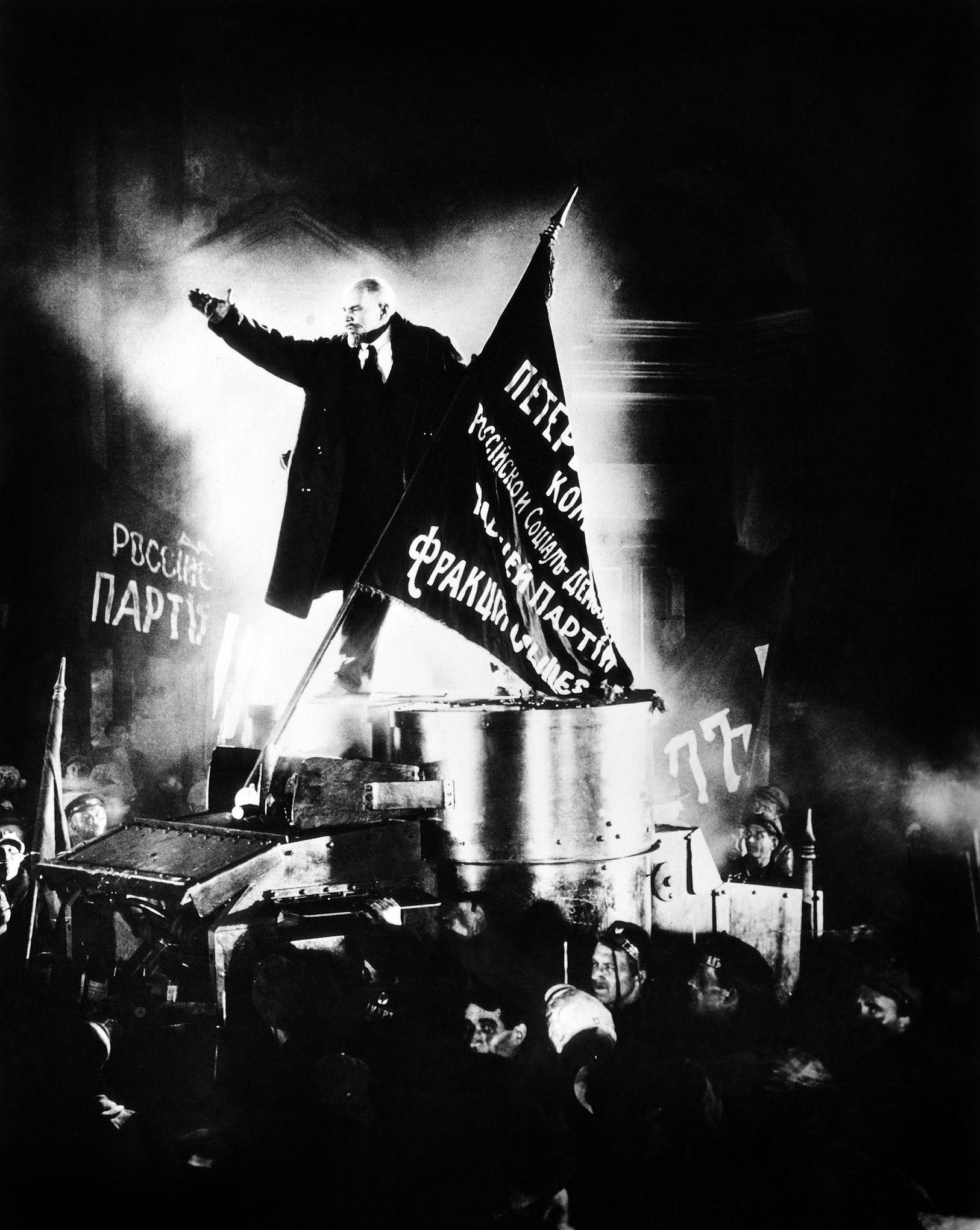 Lénine et le coup d'État d'octobre 1917