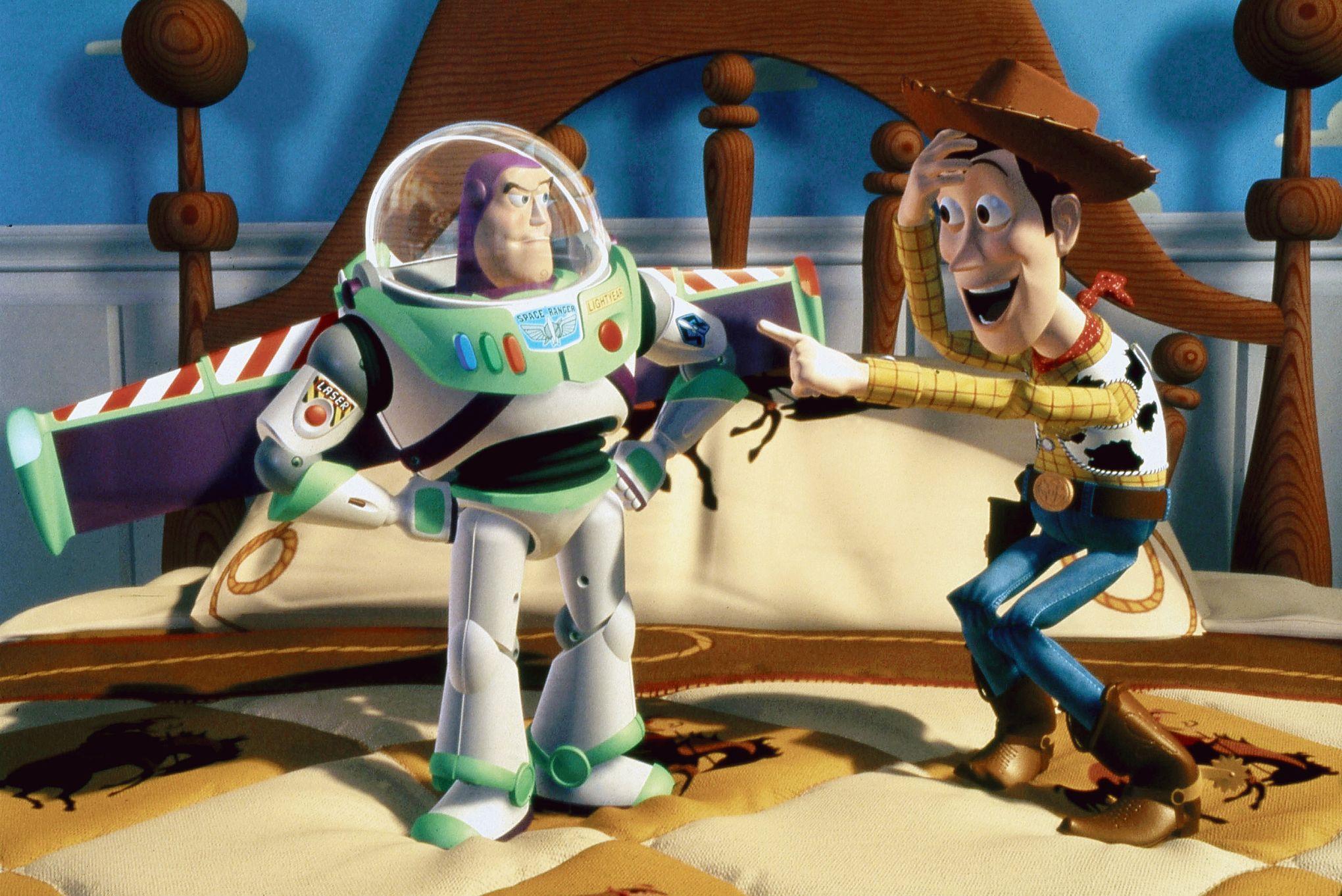 <i>Toy Story</i>, jouets dans la cour des grands