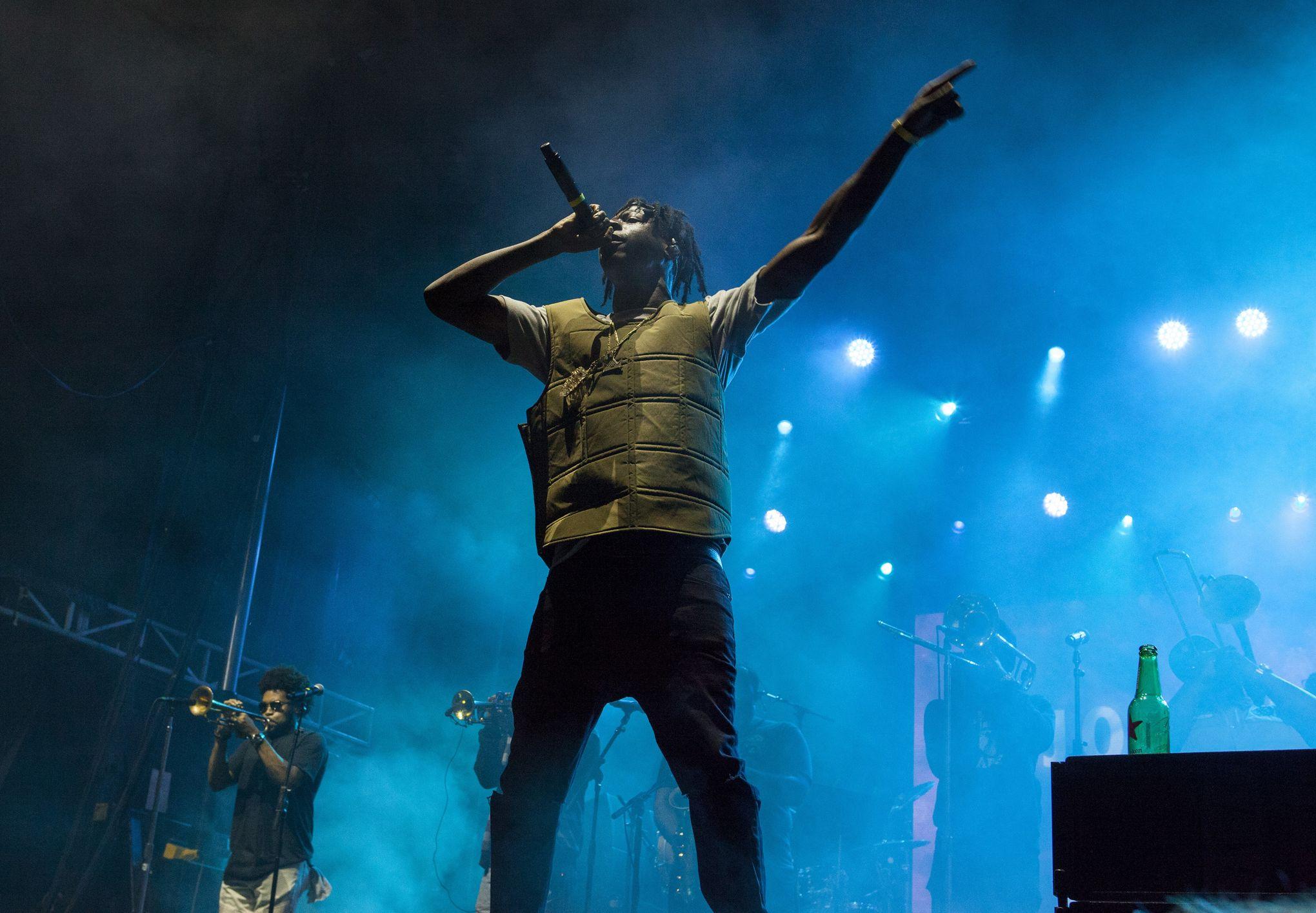 Le rappeur Joey Bada$$ annule ses concerts après avoir regardé l