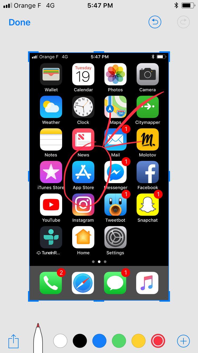 ranger ses icônes sur son iphone