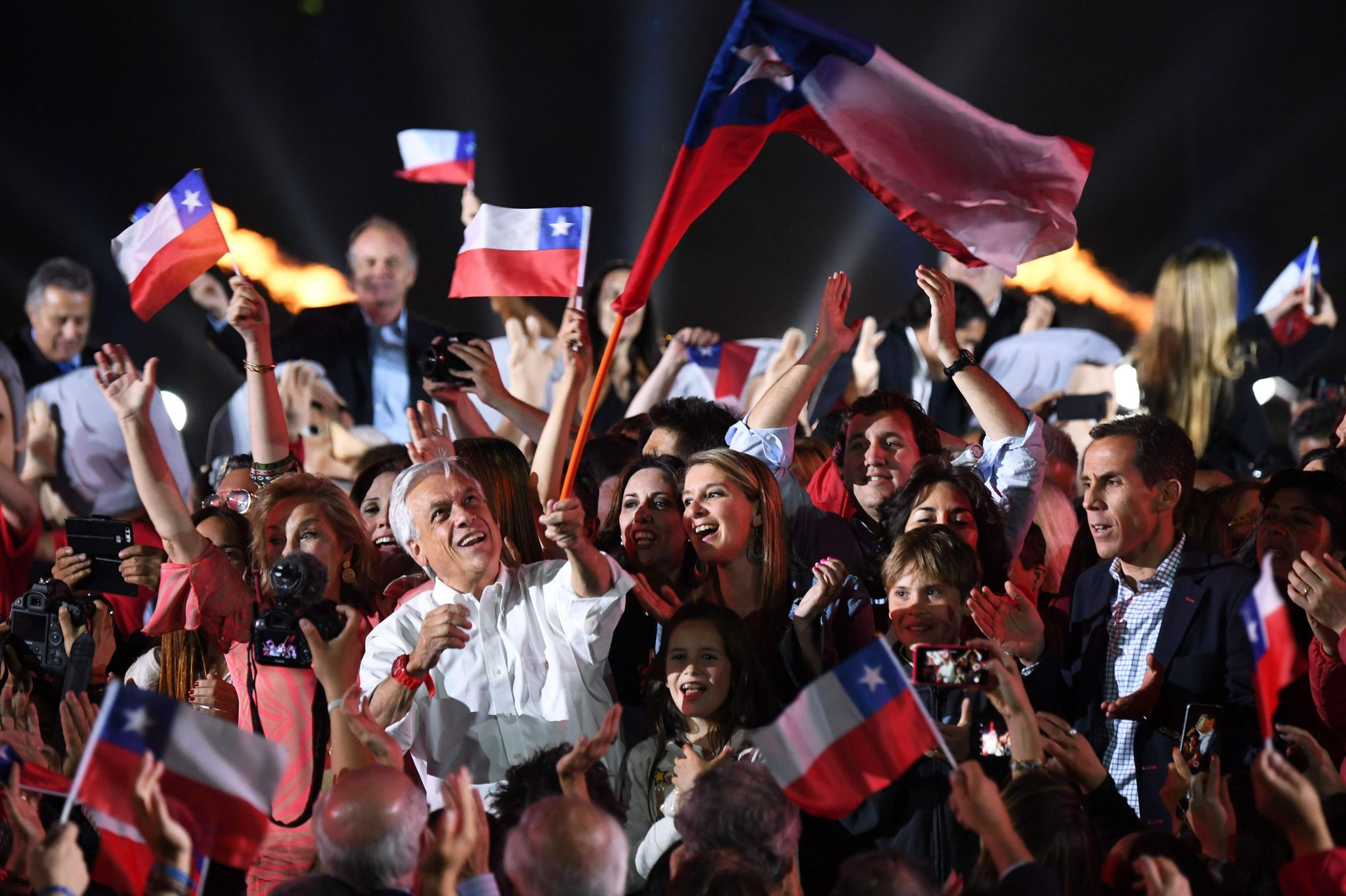 piñera élu président chili