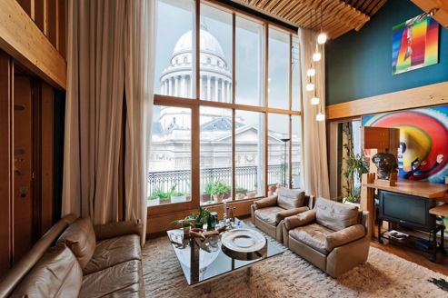 Immobilier de prestige paris 5 for Location appartement avec terrasse paris