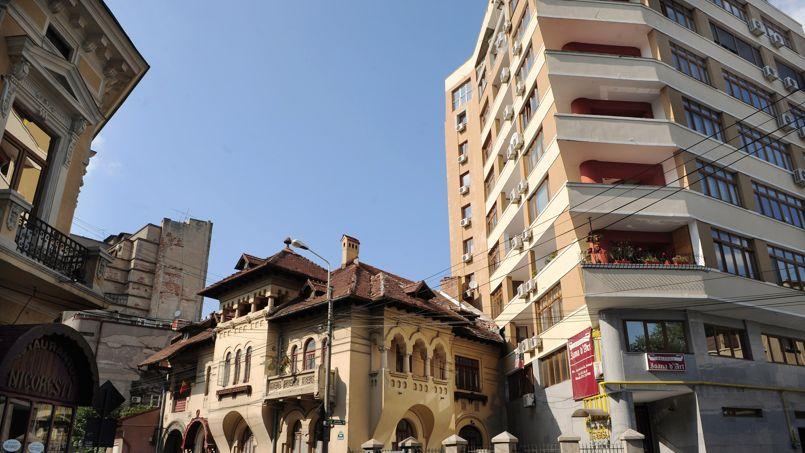 Bucarest en Roumanie.
