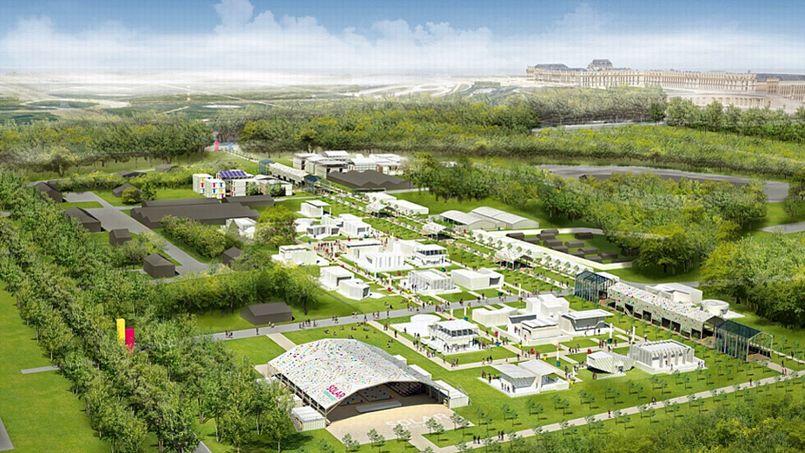 Vingt maisons solaires dans le parc du ch teau de versailles for Parking parc des expositions versailles