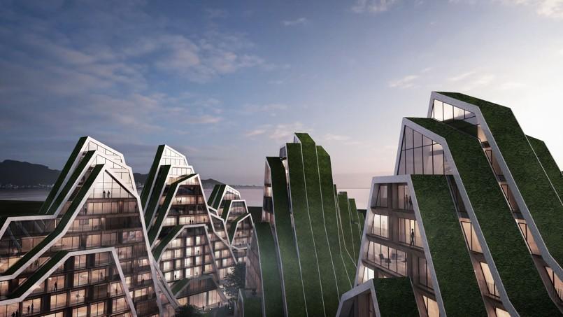 Tour du monde des immeubles les plus futuristes for Architecture des batiments