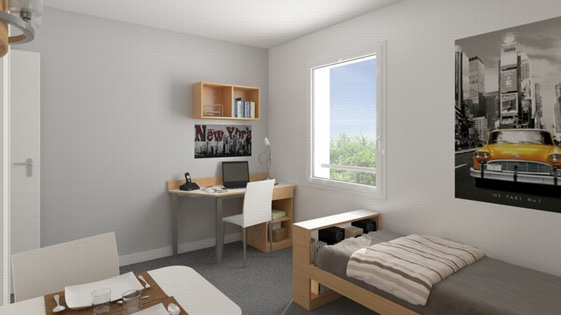 Investissement appartement etudiant - Investissement chambre etudiant ...