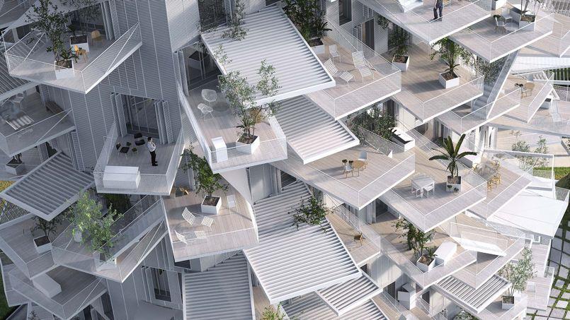 Architecture les folles constructions de sou fujimoto for Architecture concours