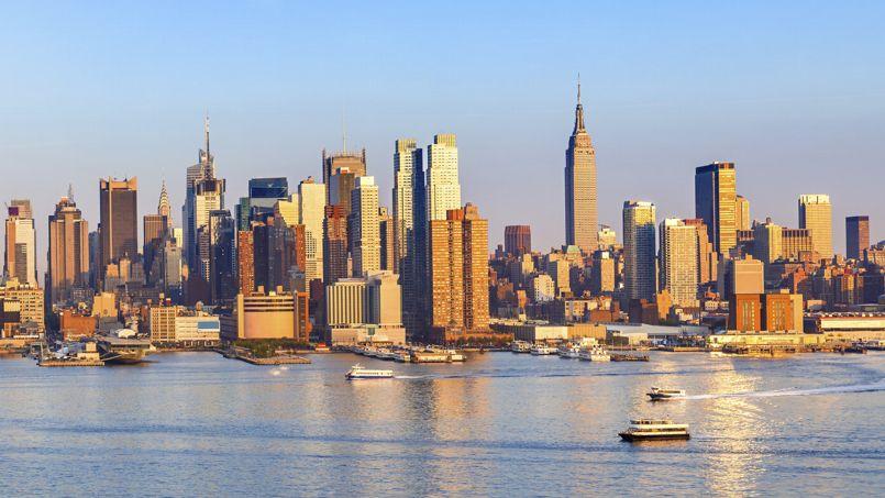 Vue de Manhattan. L'Upper West Side est la partie Ouest de Manhattan, longeant l'Hudson River. Crédits Photo: DAVID LEFRANC / Le Figaro Magazine