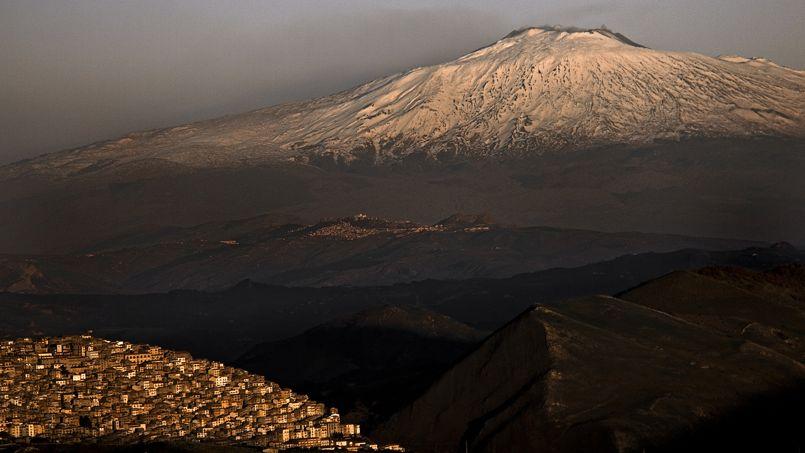 Gangi, un village dépeuplé au pied de l'Etna.