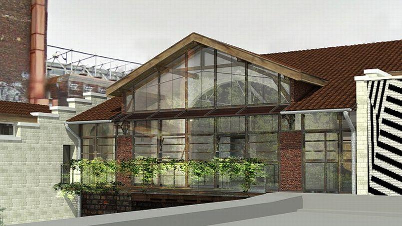 La Recyclerie, née du réaménagement de l'ancienne gare Ornano, abrite un restaurant, des ateliers bricolage ou encore des séances de troc…