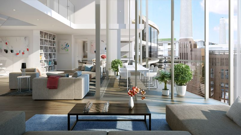 Londres le plus grand projet d am nagement urbain au monde for Appartement ultra design