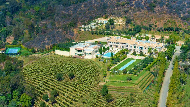 La nouvelle maison la plus ch re des tats unis vaut 195 millions de dollars - La maison de bill gates ...