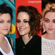 Kristen Stewart : l'évolution coiffure d'une audacieuse