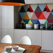 Faut-il oser le papier peint en cuisine?