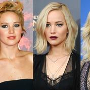 Les métamorphoses beauté de Jennifer Lawrence