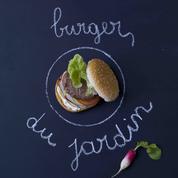 Burger classique du jardin