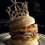 Burger foie gras et girolles