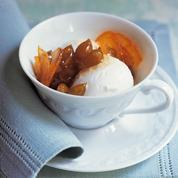 Glace au yaourt et au miel