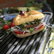 Hamburgers aux herbes