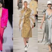 Les dix tendances repérées lors de la Fashion Week printemps-été 2018