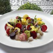 Salade de Dorade, betteraves et pommes de terre