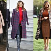 Pourquoi Melania Trump porte-t-elle toujours son manteau sur les épaules