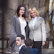 Brigitte Macron et Angelina Jolie, les photos de leur rencontre à l'Élysée