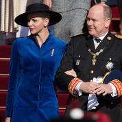 Albert et Charlene de Monaco :