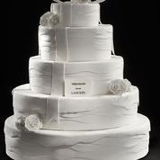 Ladurée et Vera Wang sortent une collection de gâteaux de mariage très couture