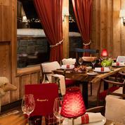 Fouquet's Courchevel Barrière, une table sous la neige