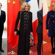 Le marathon mode de Brigitte Macron en Chine