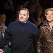 Kate Moss et Naomi Campbell, invitées surprises du défilé homme Louis Vuitton