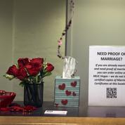 À l'aéroport de Las Vegas, on peut retirer son permis de mariage en même temps que ses bagages