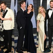 En couple, les stars sortent le grand jeu pour l'after party des Oscars