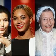 Simone de Beauvoir, Simone Veil, Beyoncé, Chimamanda Ngozi Adichie... Les grandes figures du féminisme