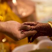 En dix ans, le nombre d'enfants mariés a été divisé par deux en Inde