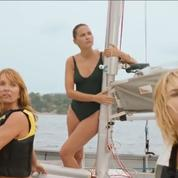 Virginie Ledoyen, Axelle Laffont et Marie-Josée Croze, trois