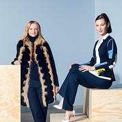 Delphine Arnault et Bella Hadid :