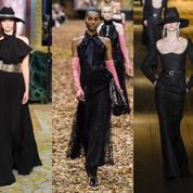 Fashion Week automne-hiver 2018-2019 : la robe noire prend une longueur d'avance