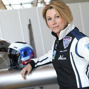 Mélanie Astles, femme pilote :