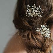 Barrette, diadème, headband... 30 accessoires pour sublimer la coiffure de la mariée