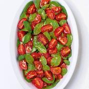 Tomates cerises à la menthe