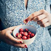 Gaufrettes à la fraise