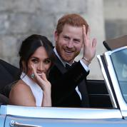 Emmanuel Macron a félicité le prince Harry et Meghan Markle pour leur mariage