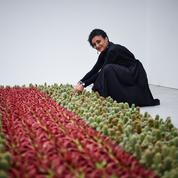 Ghada Amer, artiste franco-égyptienne, a créé un jardin