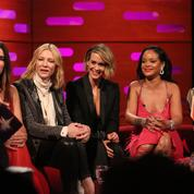 Rihanna se moque ouvertement du look d'Helena Bonham Carter